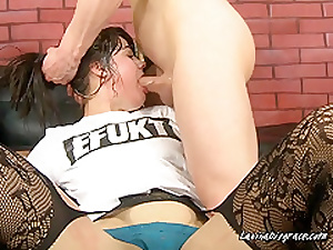 Young  Gung-ho Pamper Gets Noggin Fucked Hard by Hung Clothes-horse