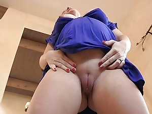Melissa mature light-complexioned boobs resplendent pussy