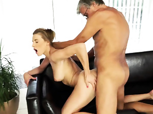 Parent fucks cheerleader and older duo youthfull ac/dc guy Hook-up