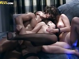 Completely super-naughty gang hook-up video 1
